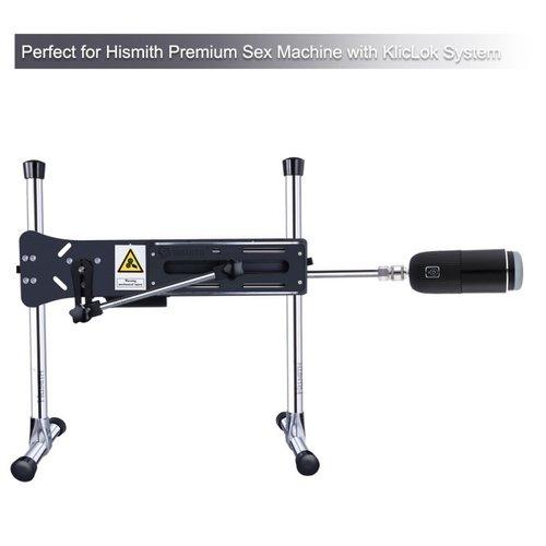 Pocket Masturbator voor de KlicLok Seksmachine Zwart