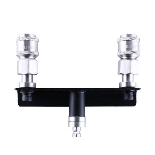 Dubbele Dildo Opzetstuk Adapter Hismith Premium KlicLok