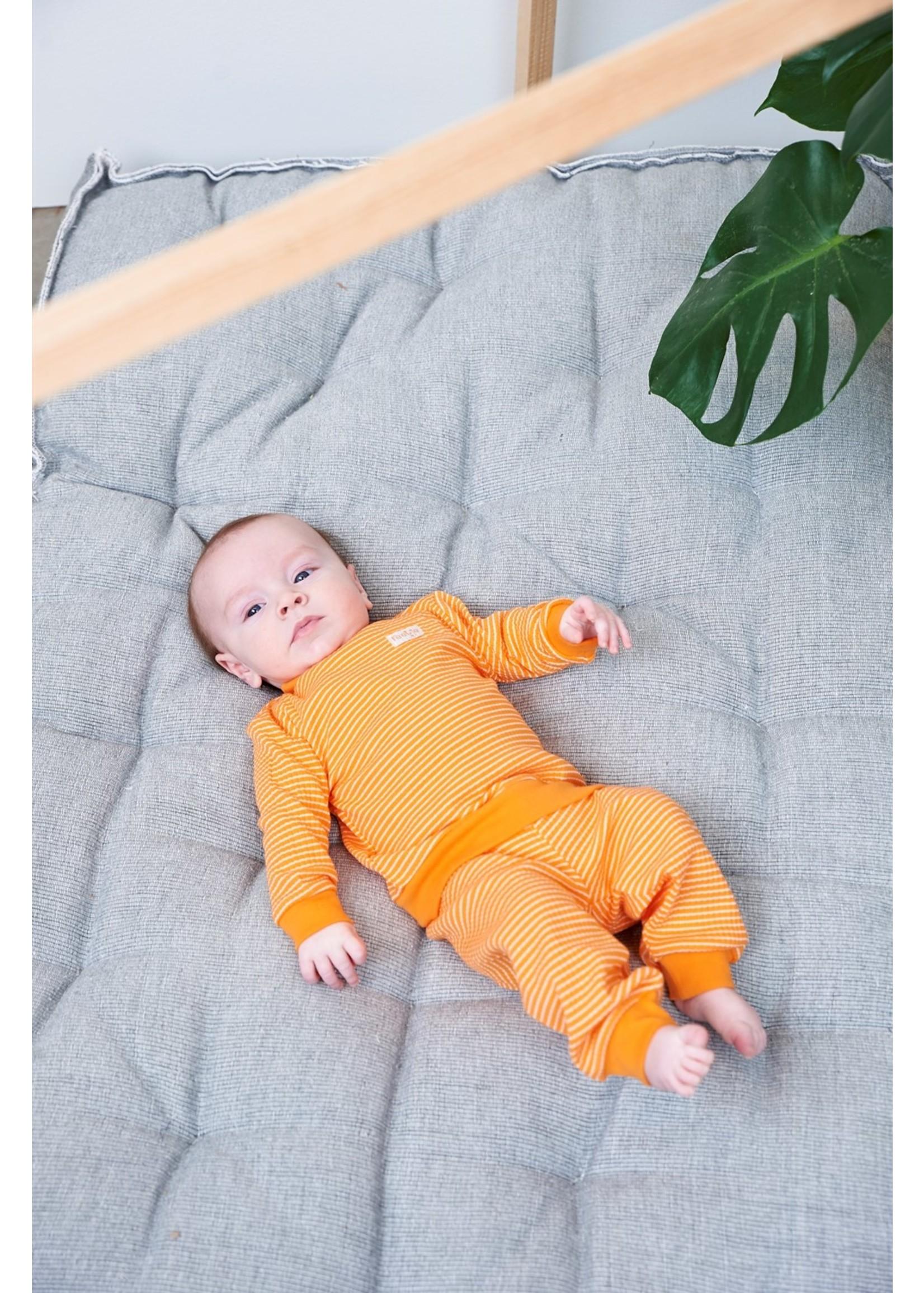 Feetje Pyjama wafel oranje