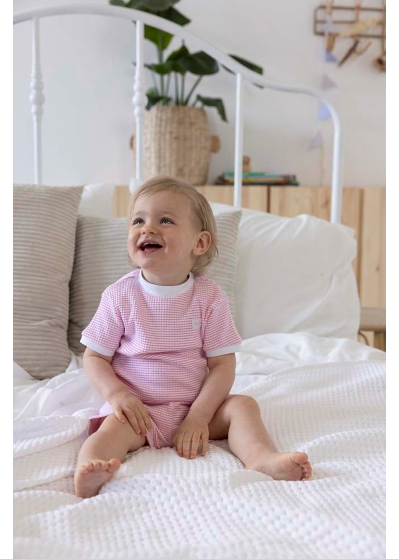 Feetje Pyjama kort wafel