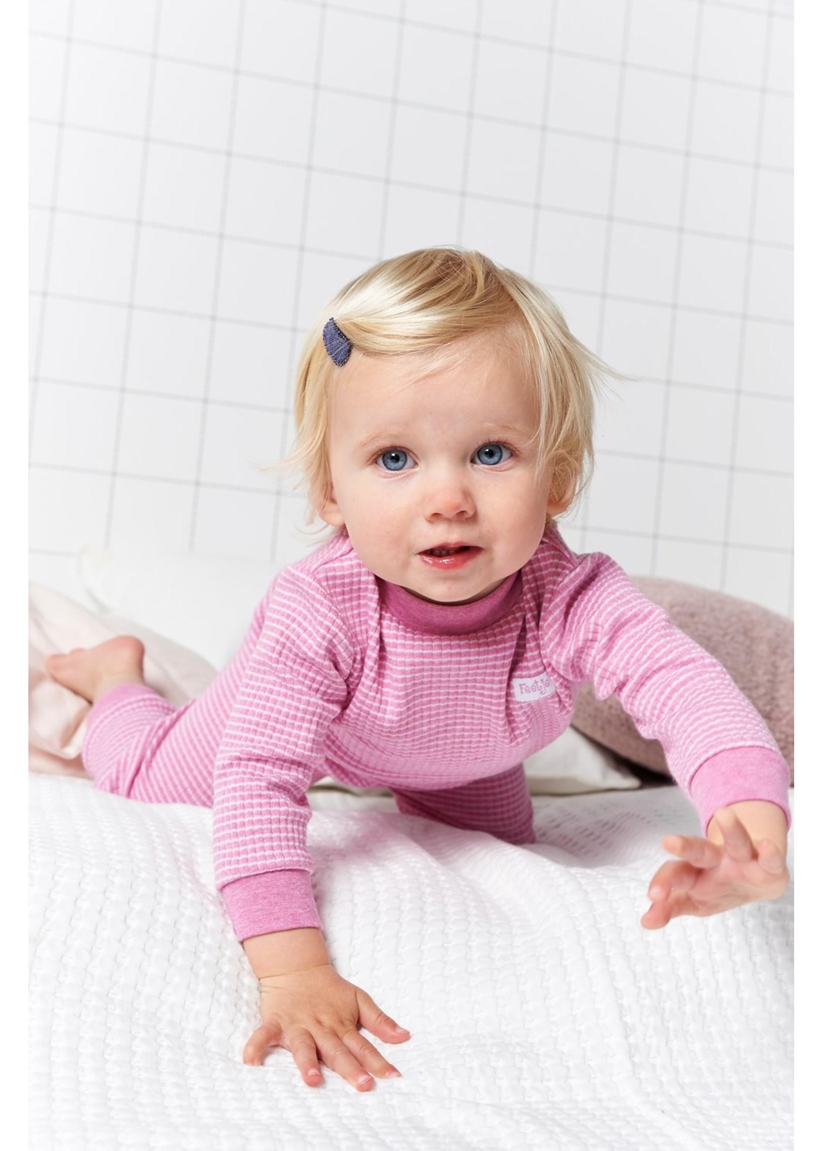 Feetje pyjama Pink Melange 62