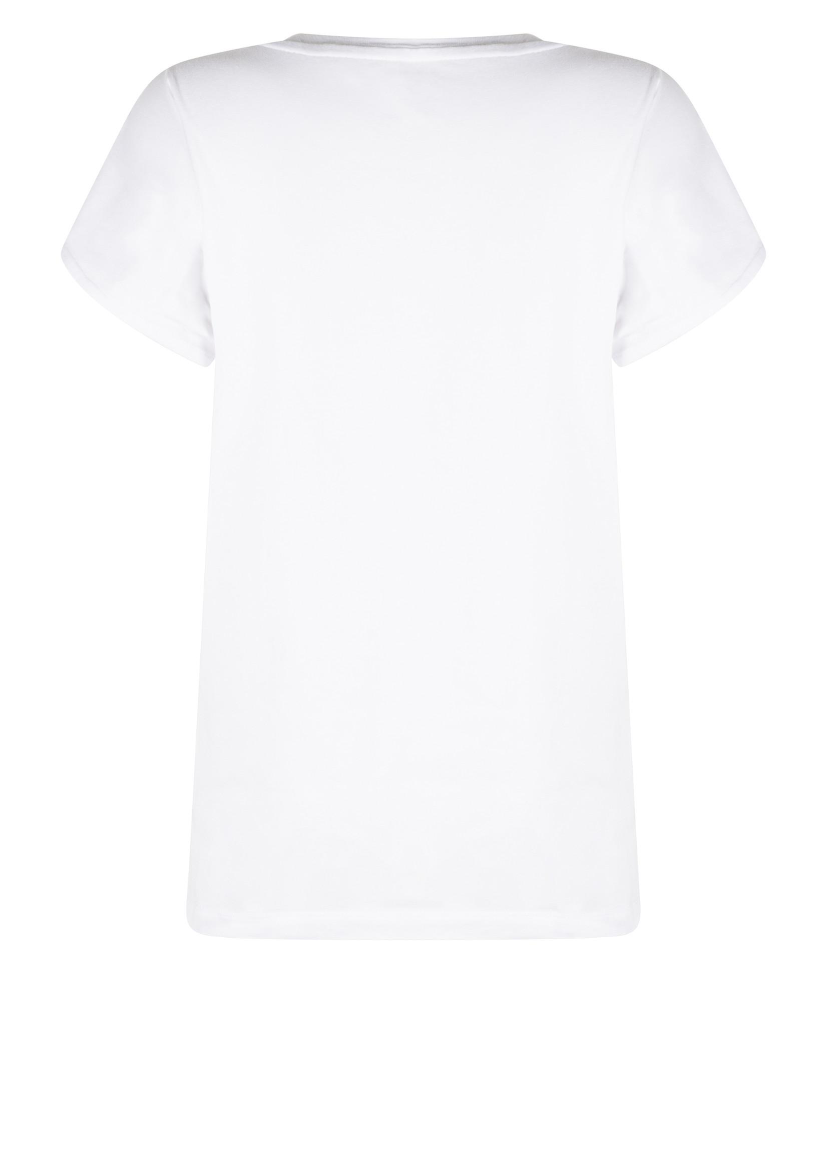 Zoso T-shirt met print en pailletten