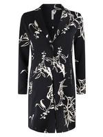Zoso Allover printed long blazer