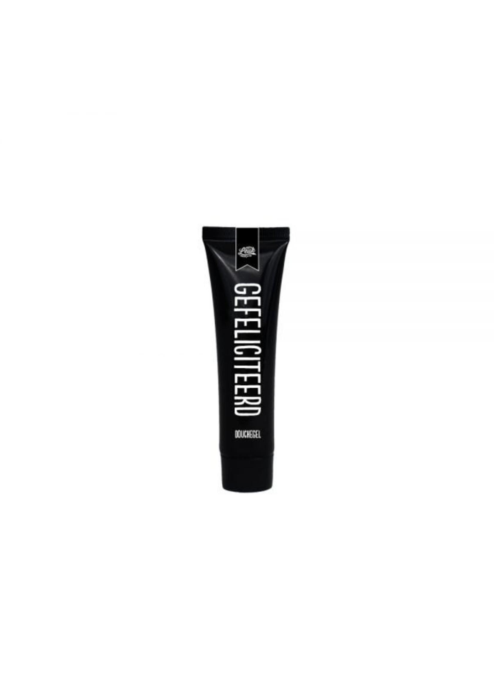100% Leuk Mini tube zwart - Gefeliciteerd