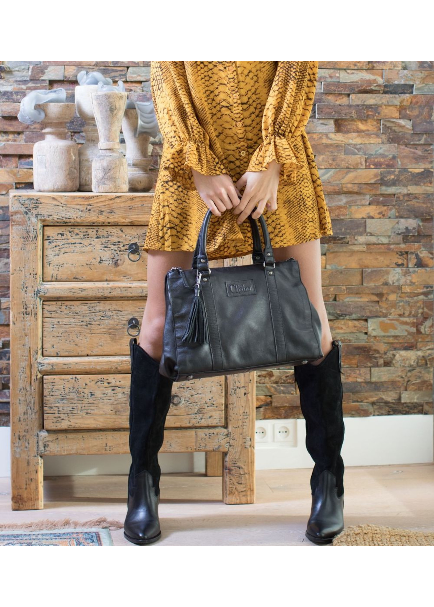 Chabo Bags Kit´s Monroe Handbag Zwart