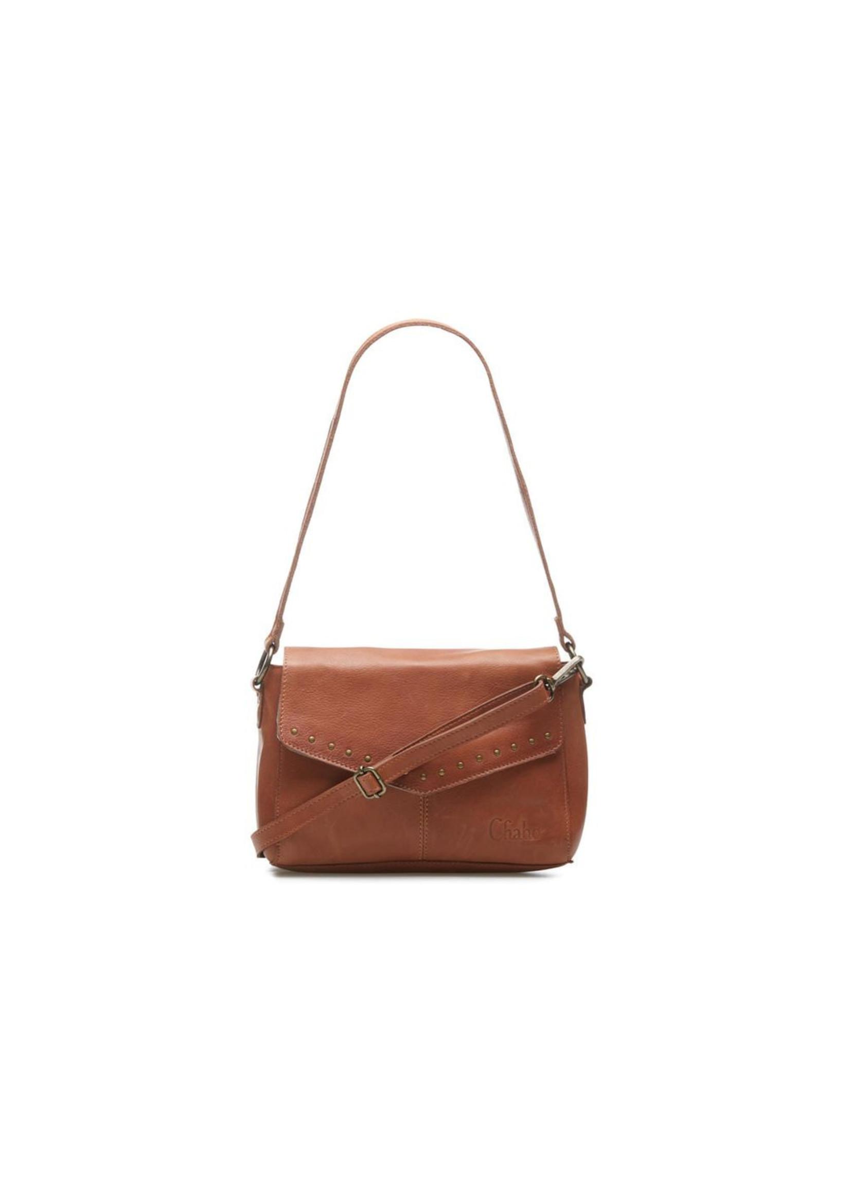 Chabo Bags Susy Studs Medium Fashion Bag Camel