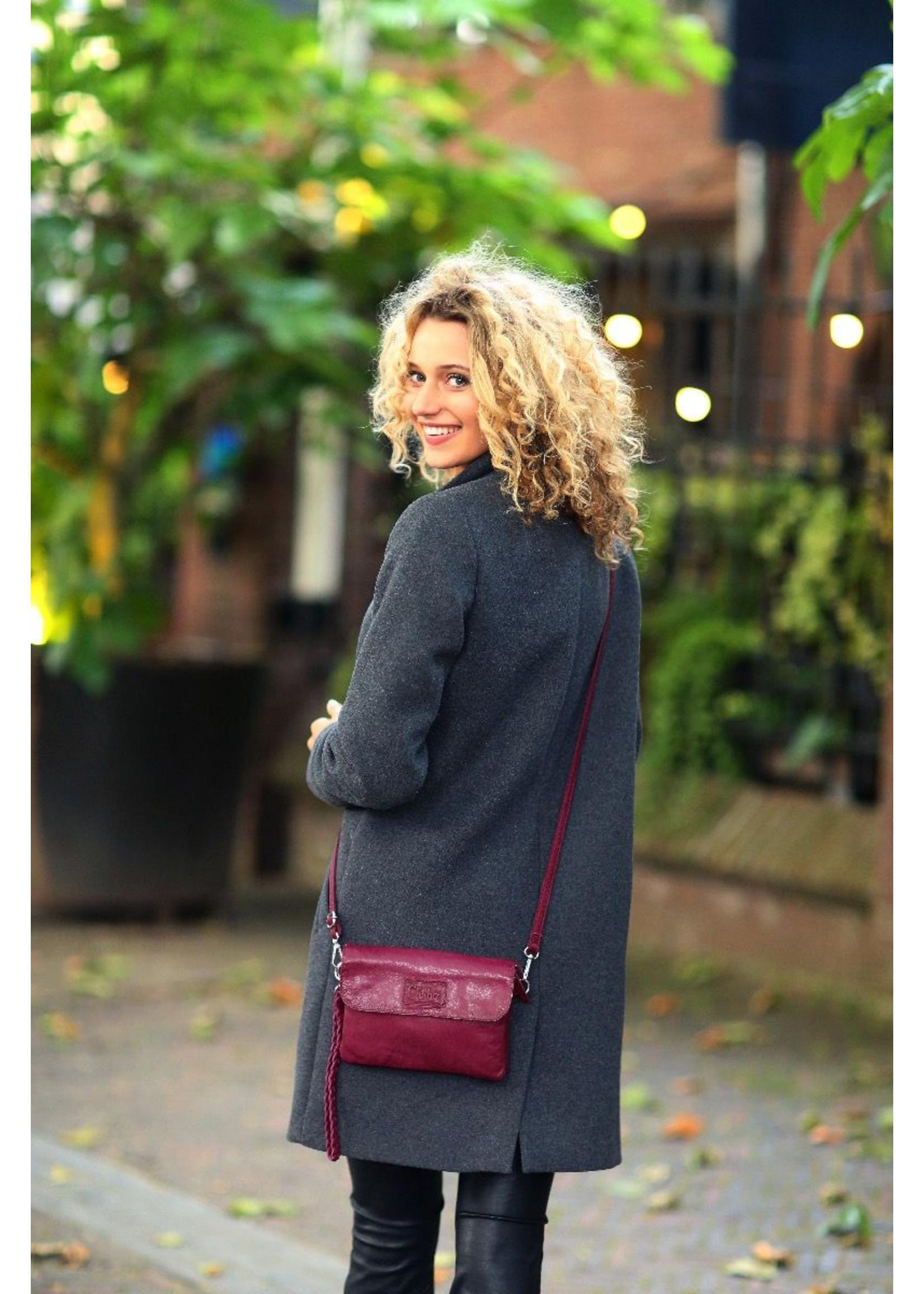 Chabo Bags Bink Style Crossover tas Aubergine