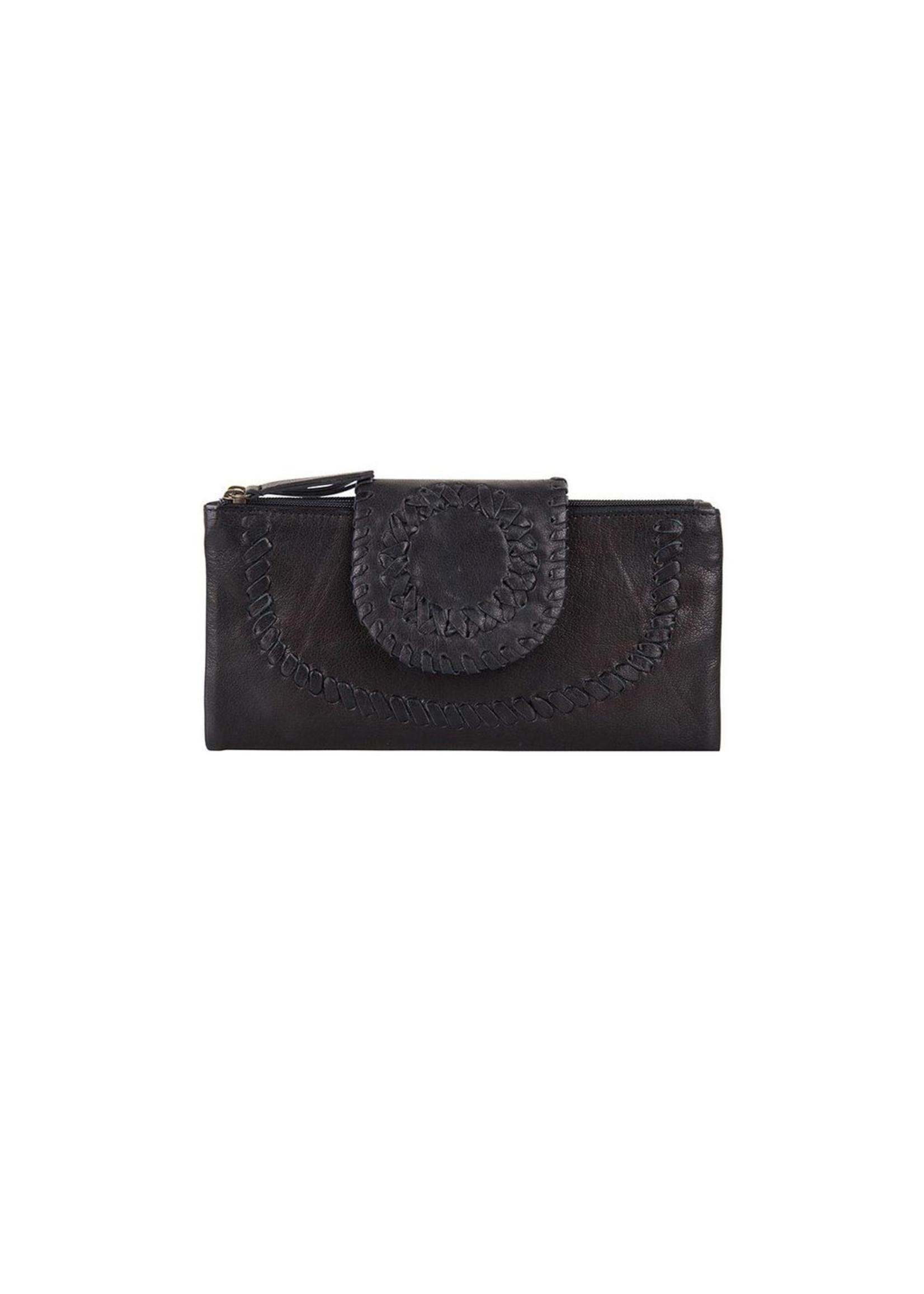 Chabo Bags Ladies Wallet Portemonnee Zwart