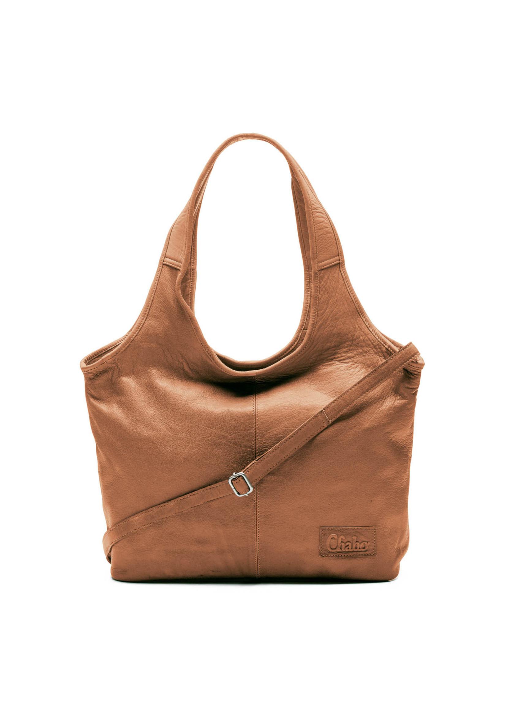 Chabo Bags Beauty shopper Camel