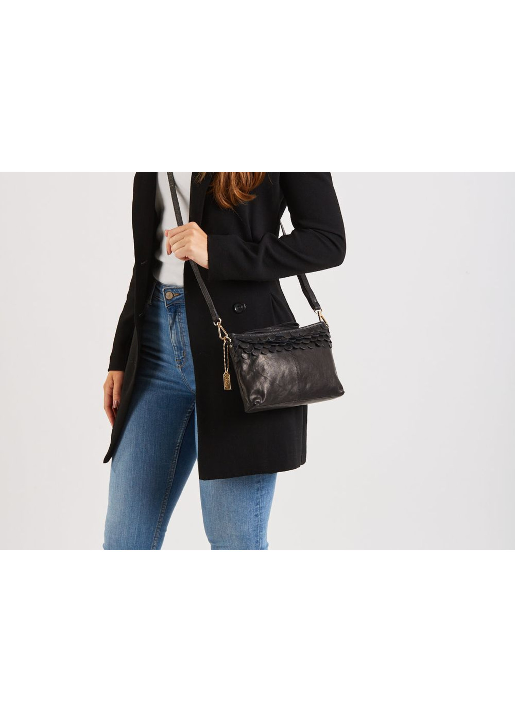 Chabo Bags Oasis Small Crossover tas Zwart