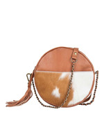 Chabo Bags Circle Bag Cow Fashion Bag Camel