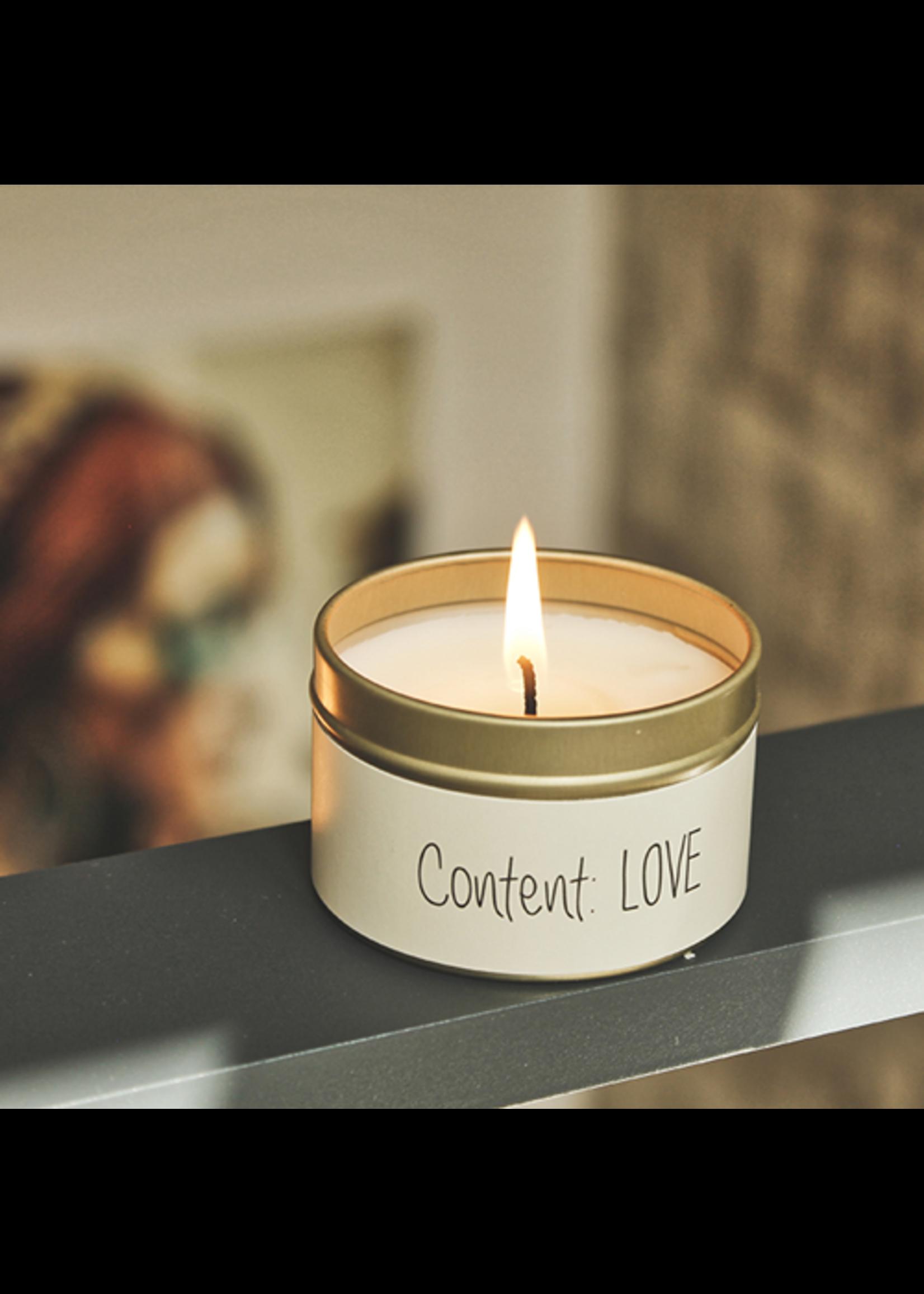 My Flame Geurblikje Content Love