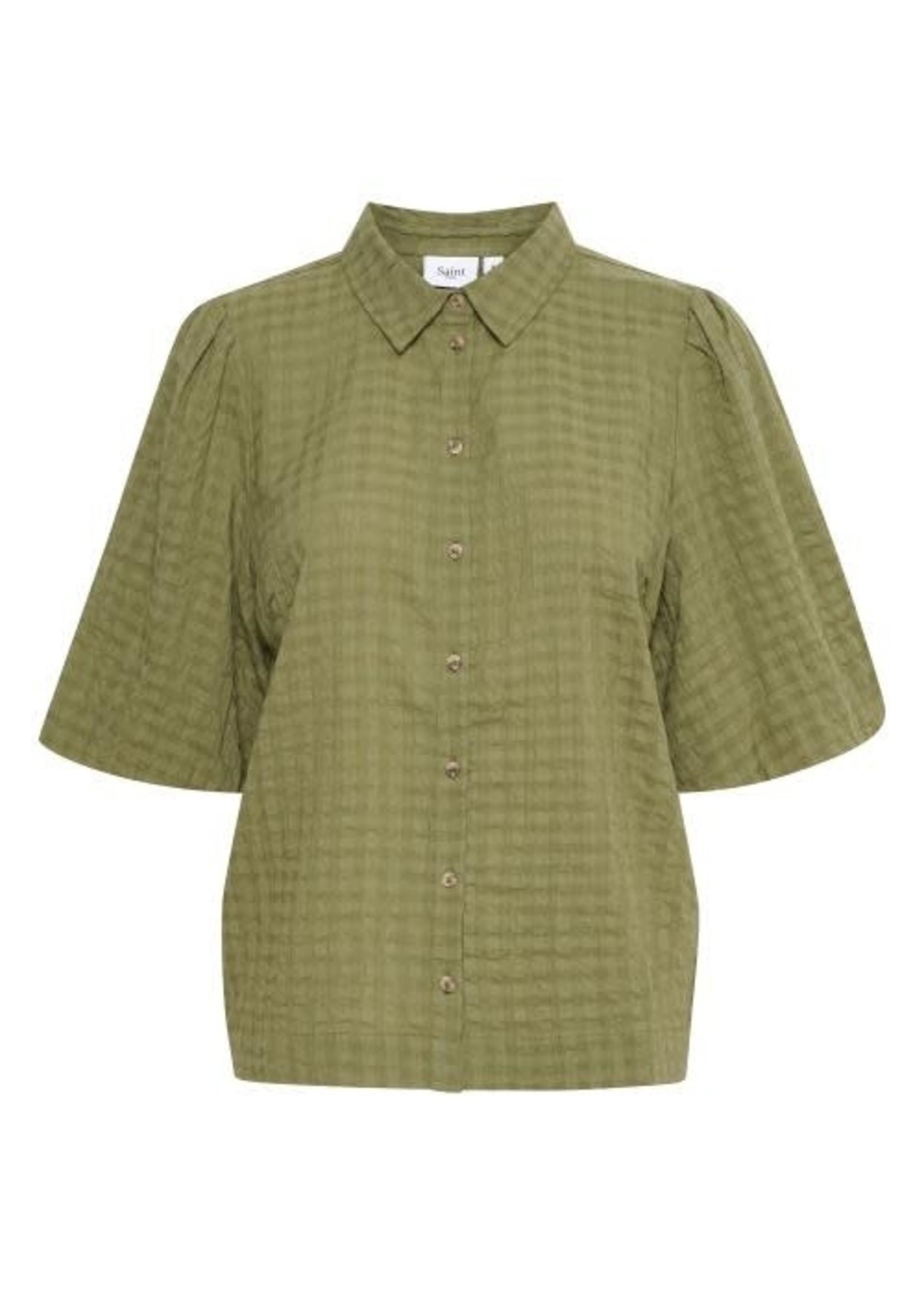 Saint Tropez Woven Shirt l/s HirliSZ Shirt