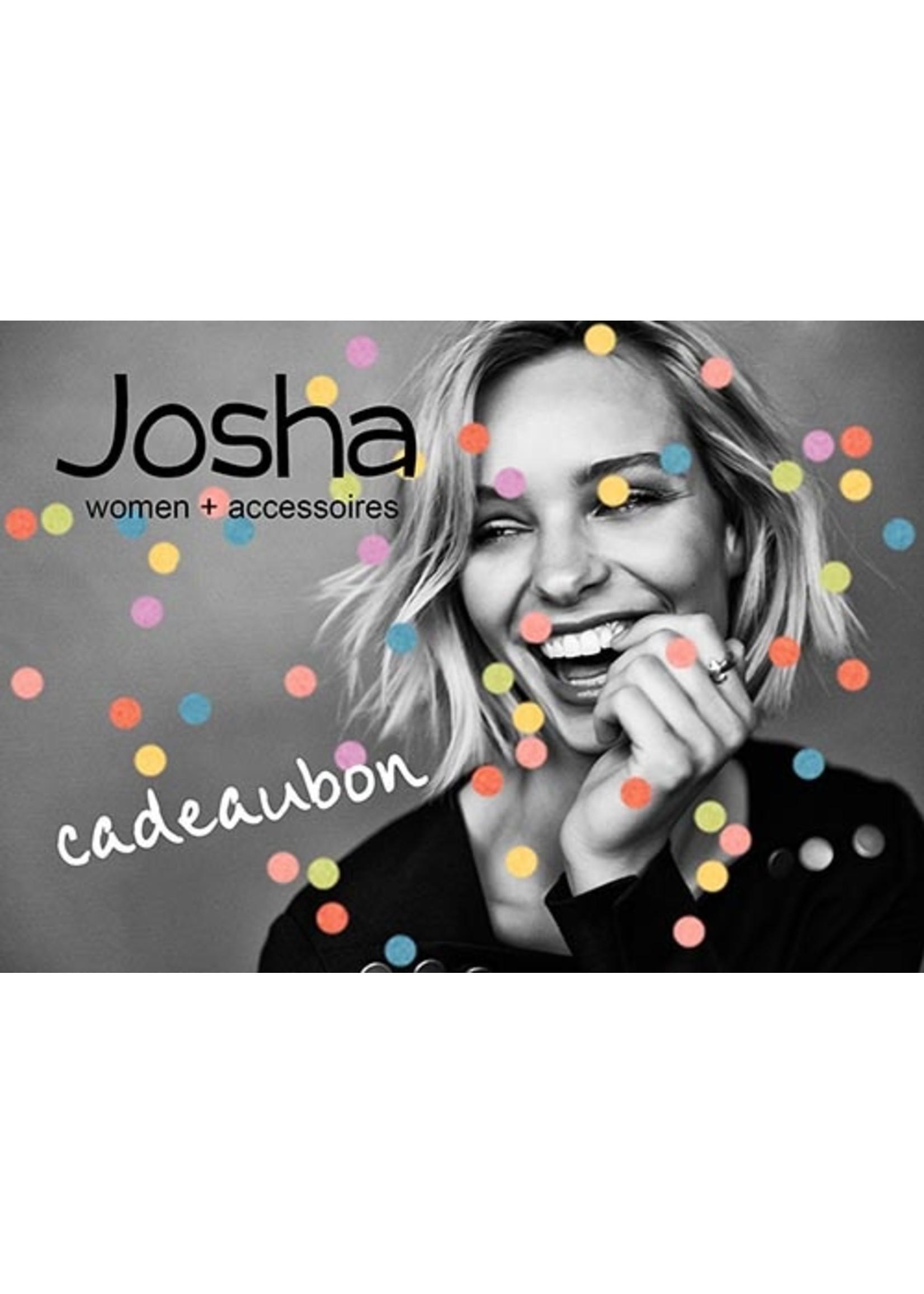 Cadeaubon Josha € 15,00