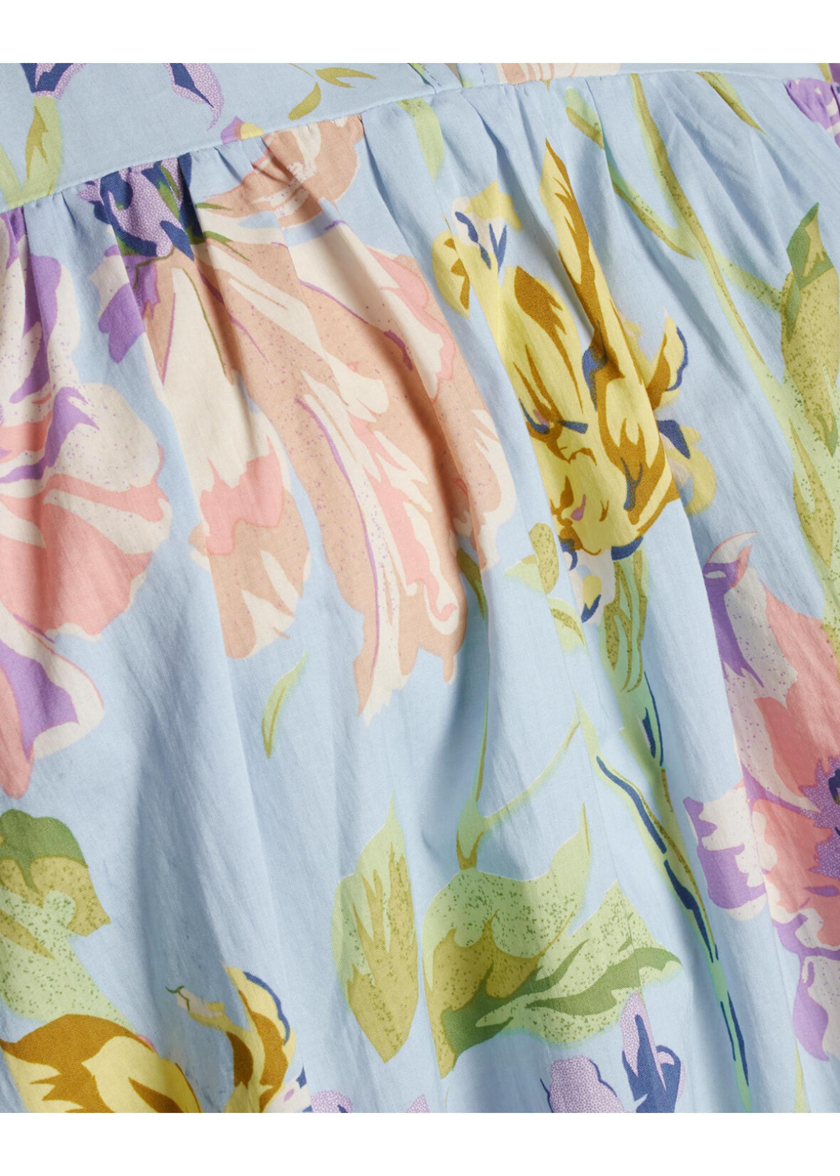 Sisterspoint Ezza jurk Blue Flower