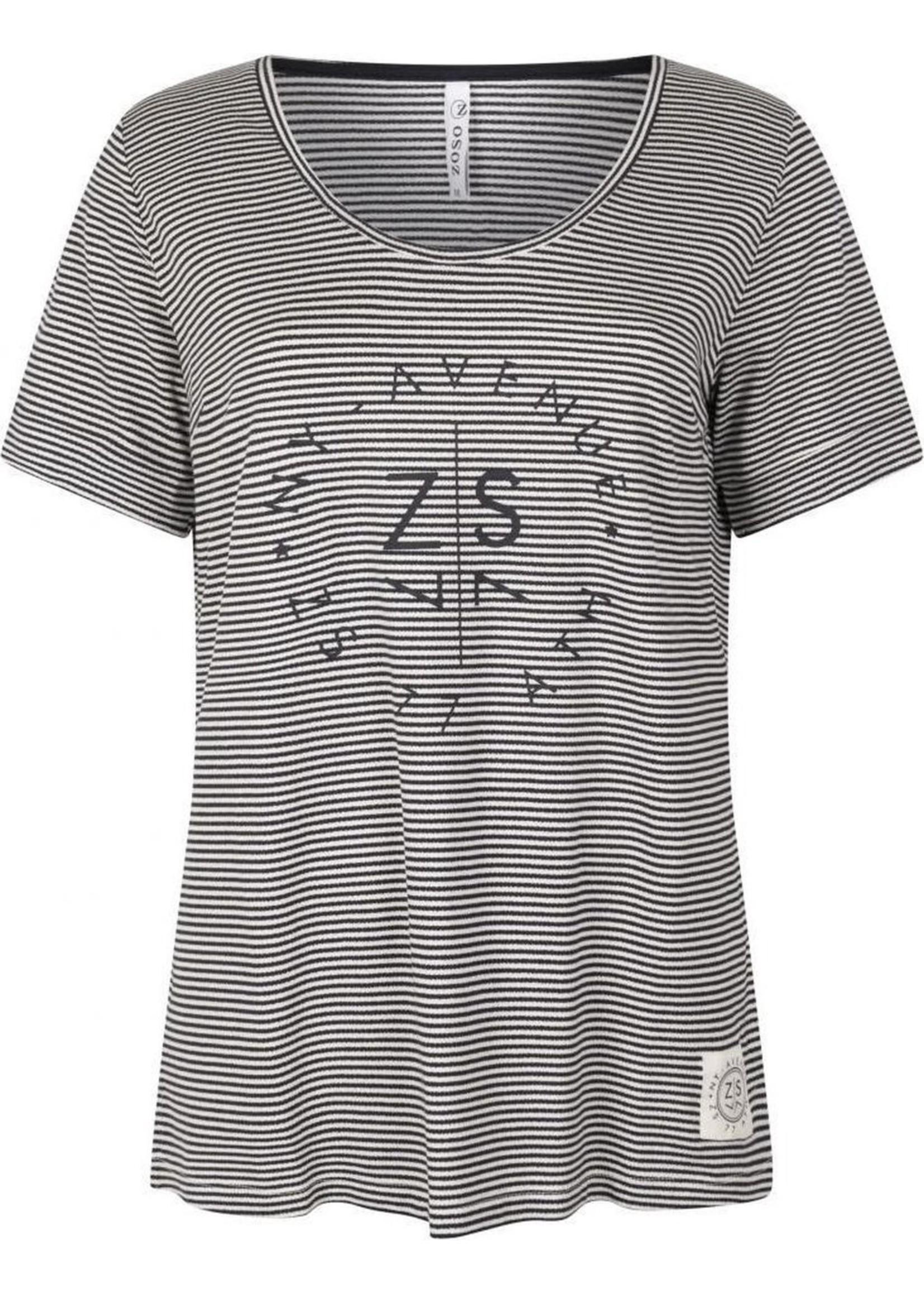 Zoso t-shirt Fabienne L blauw