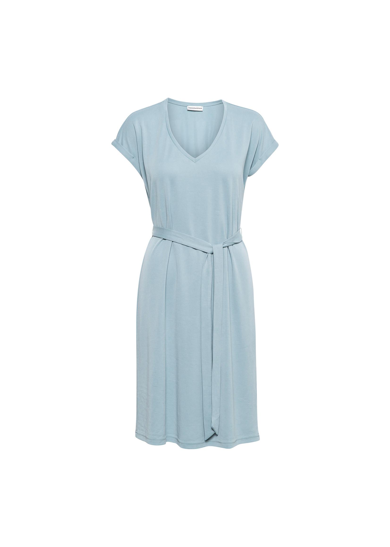 &Co Women METTE DRESS (OCEAN)