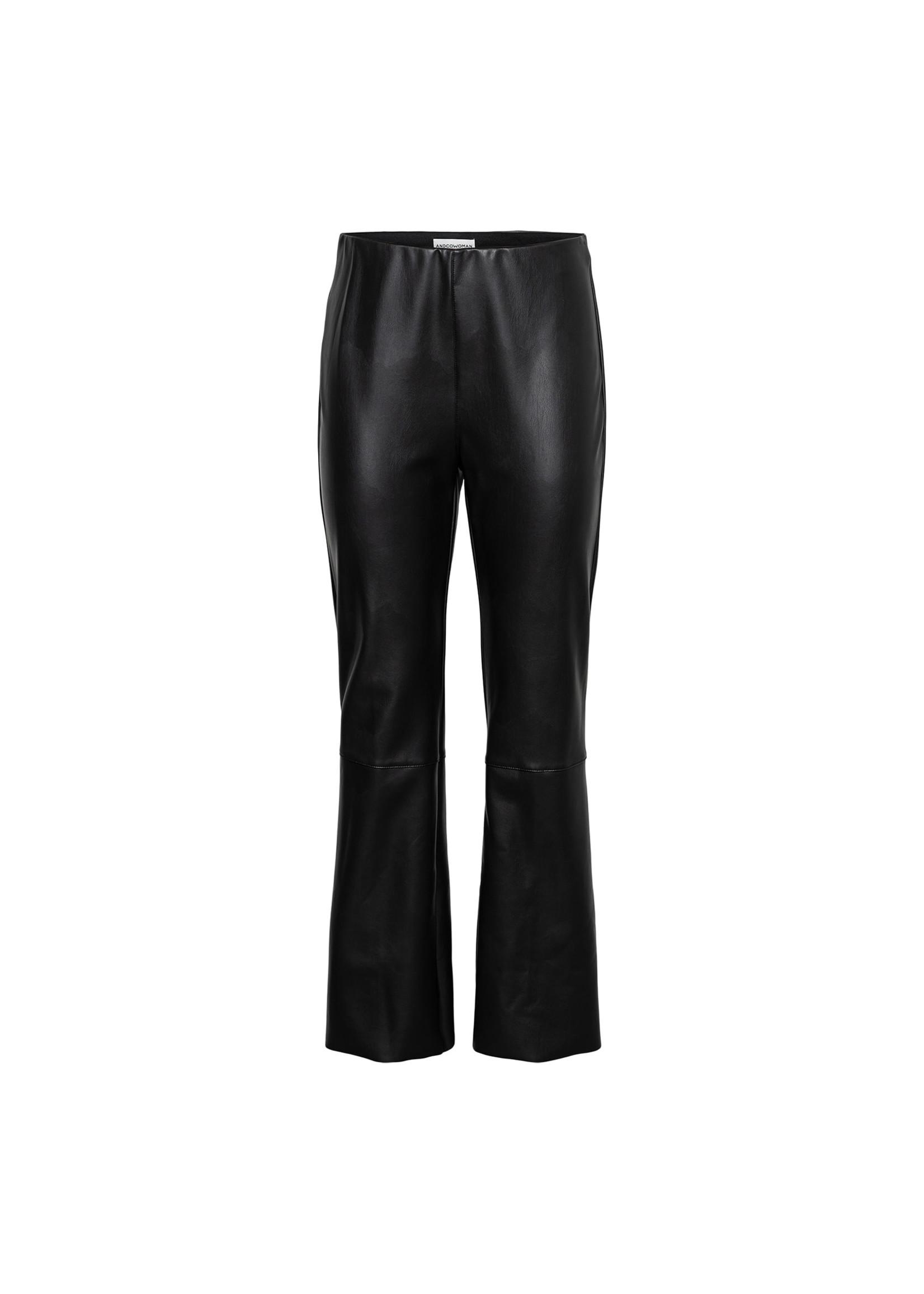 &Co Women Harley pu pants