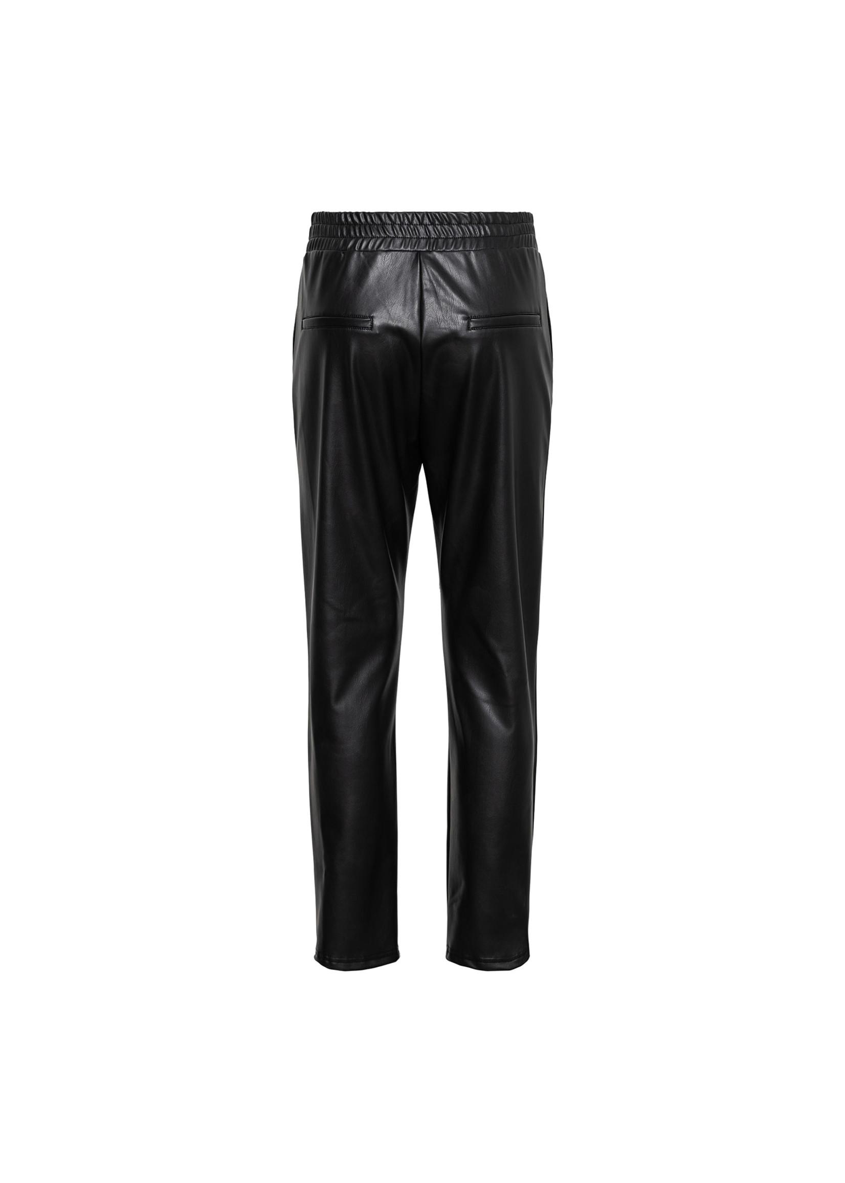 &Co Women Holly pu jogger pants
