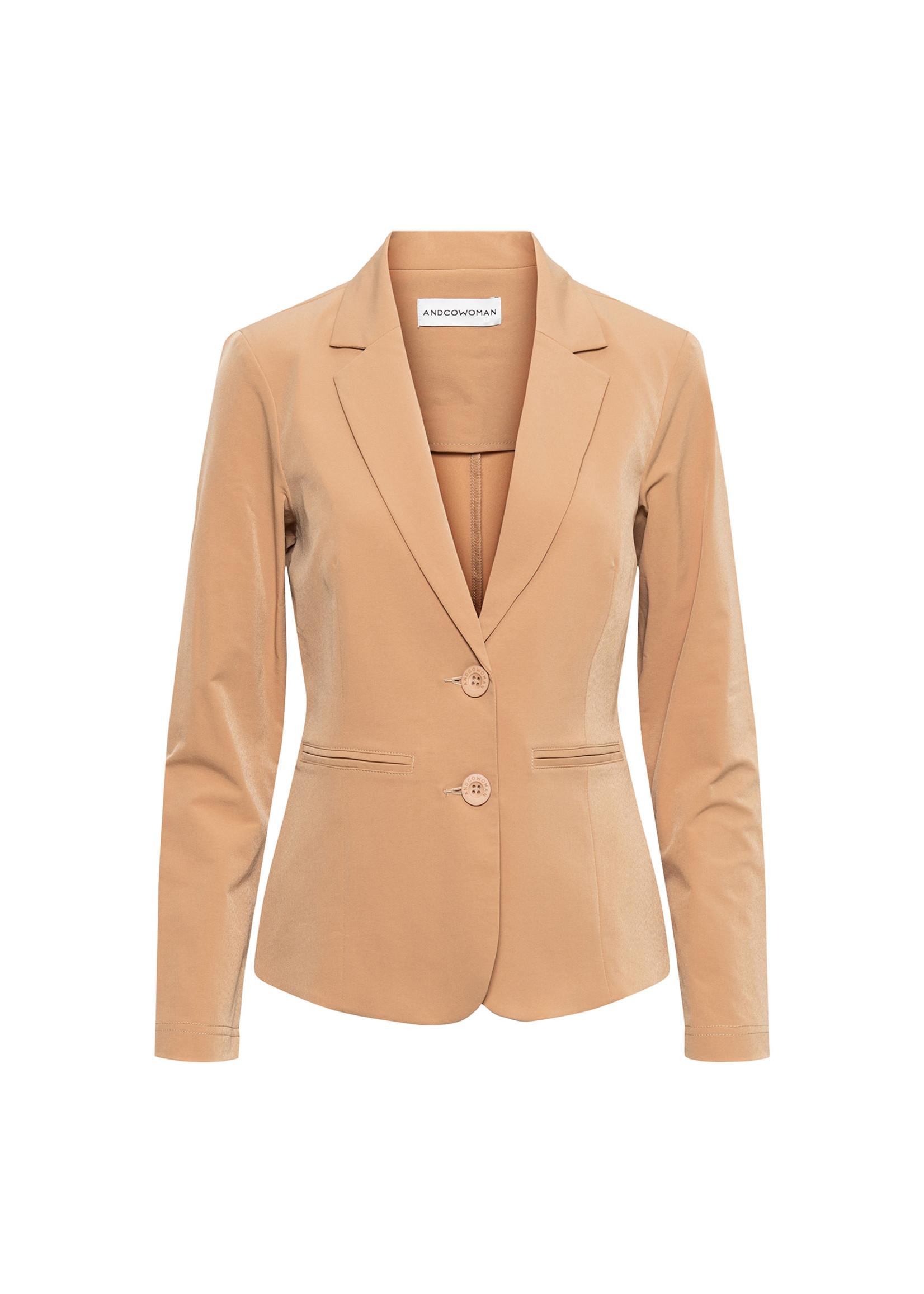 &Co Women phileine blazer (camel)