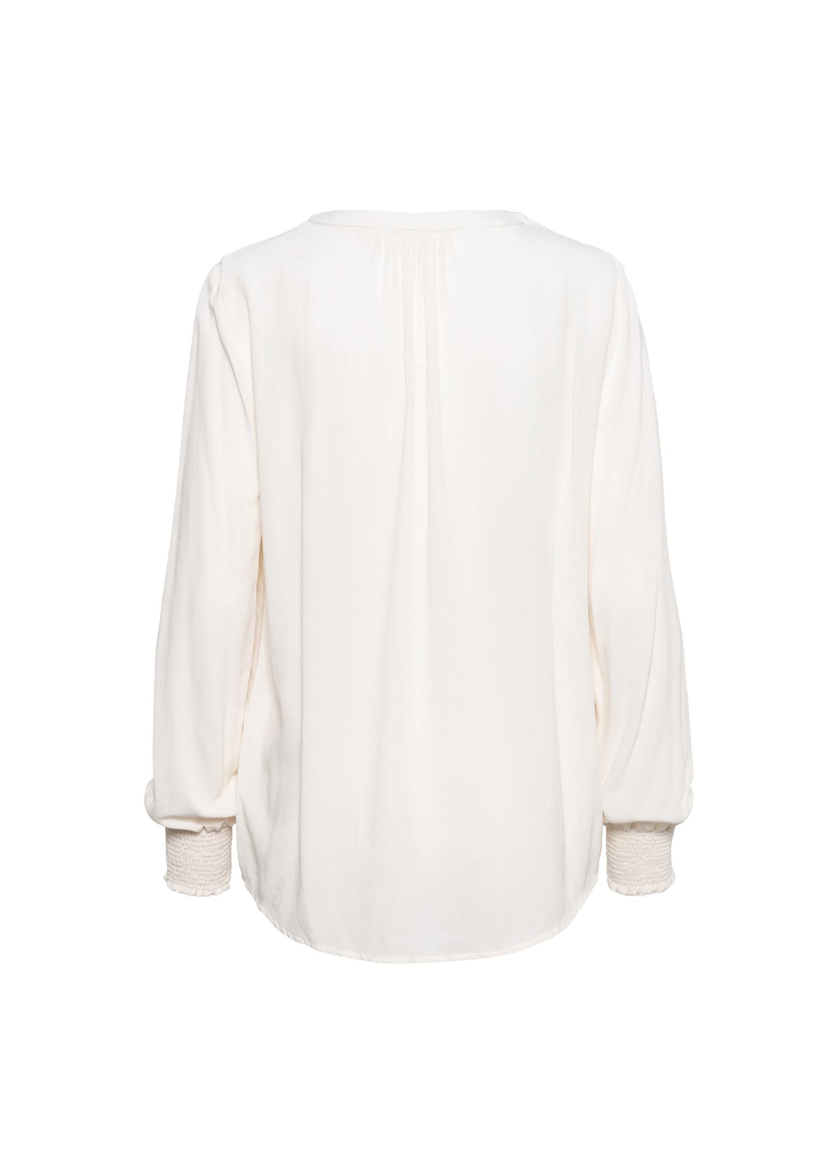 &Co Women alena blousetop uni (creme)