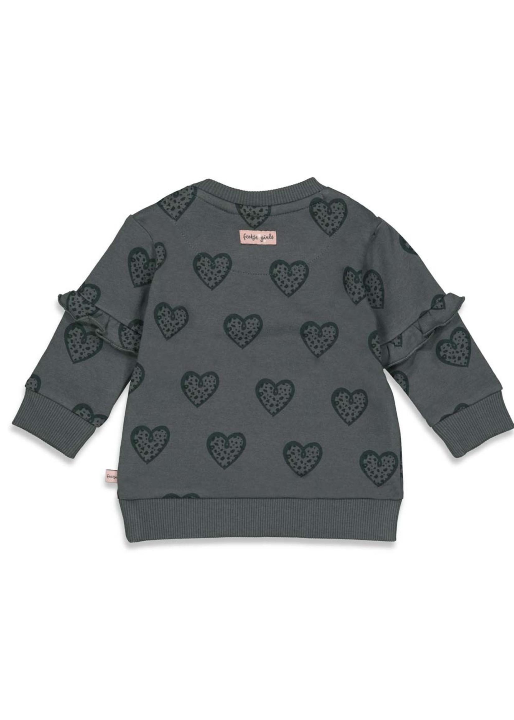 Feetje Sweater AOP - Full Of Love