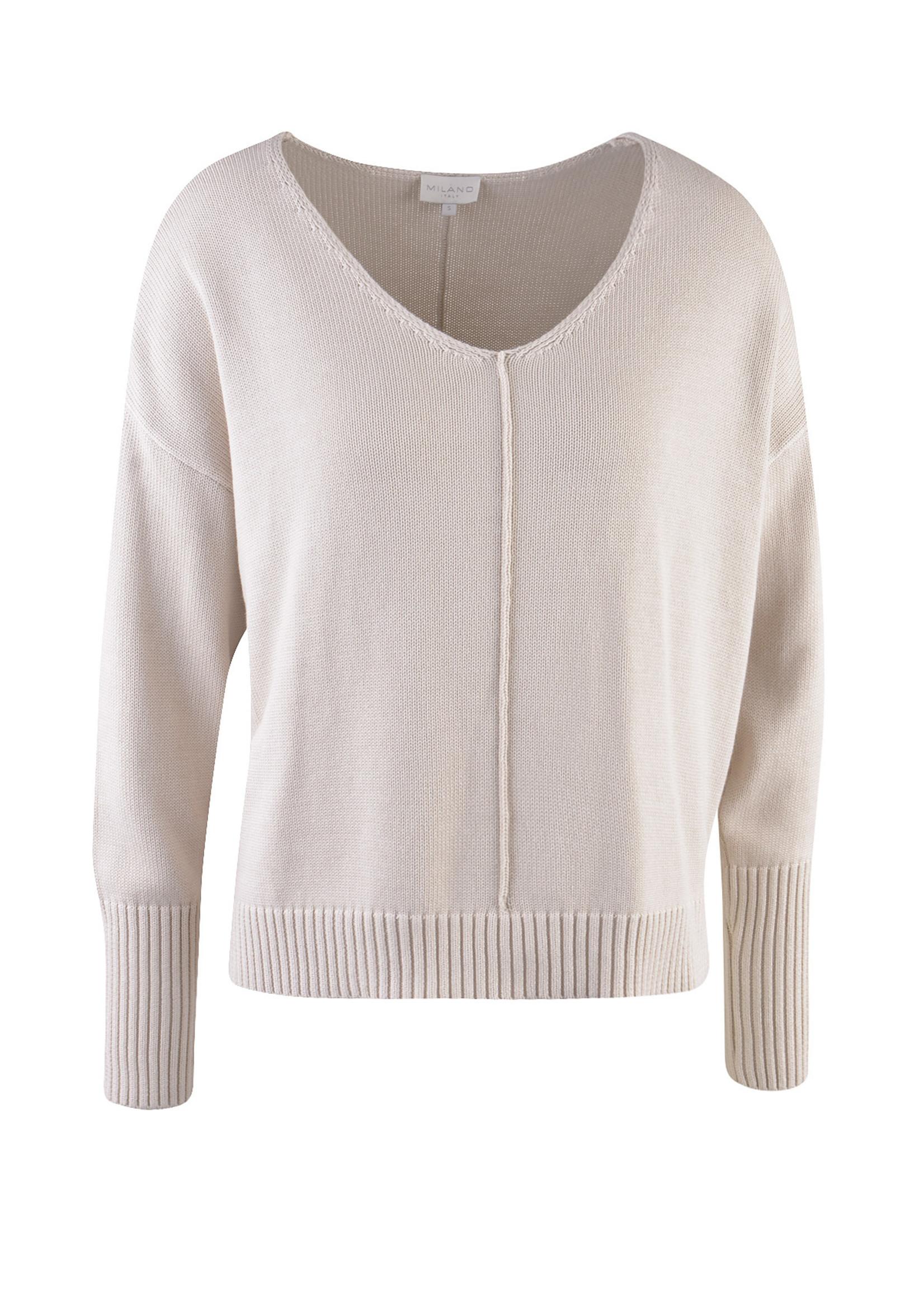 Milano Pullover met oversized aan de schouders