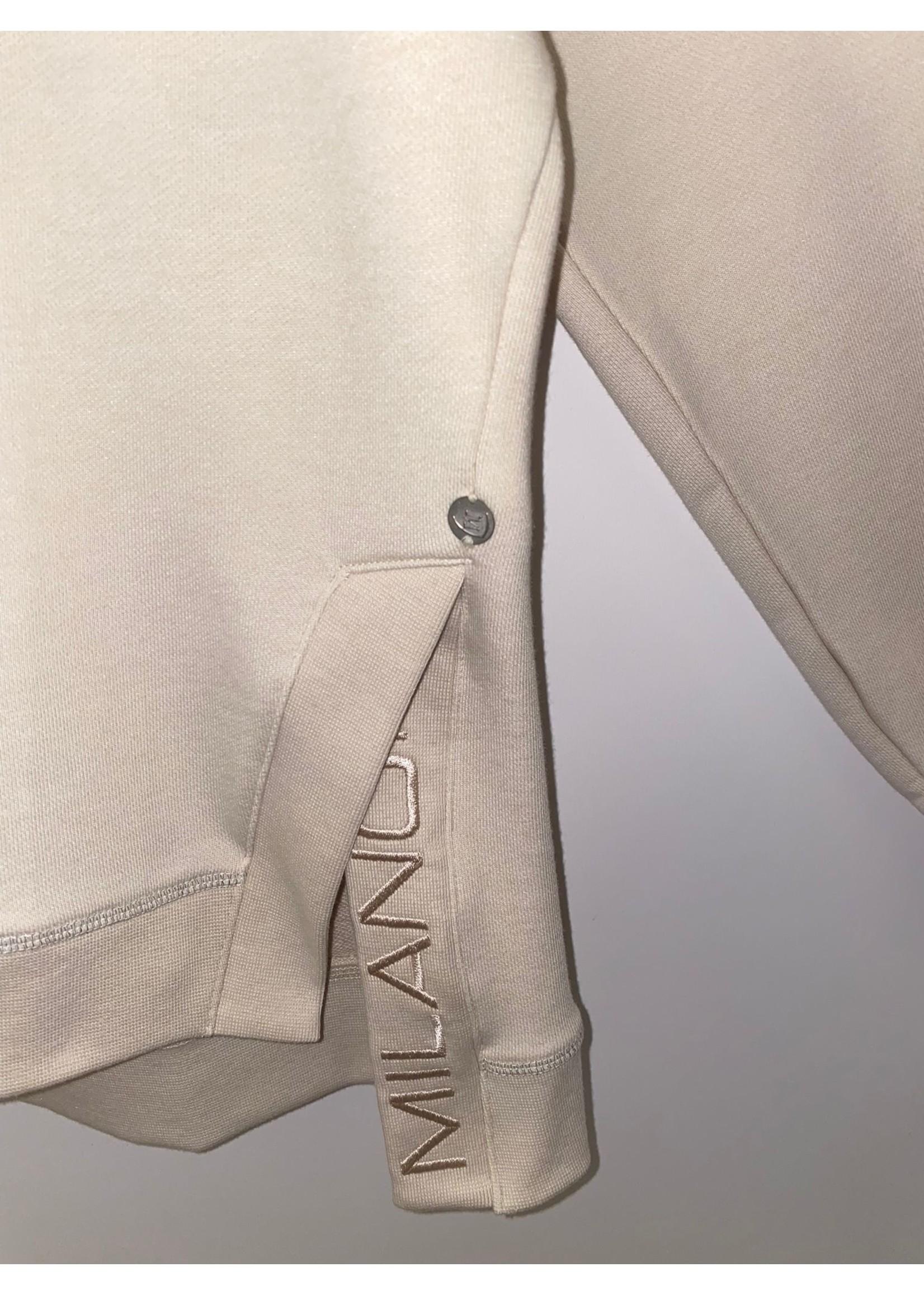 Milano Sweatshirt met oversized aan de schouders