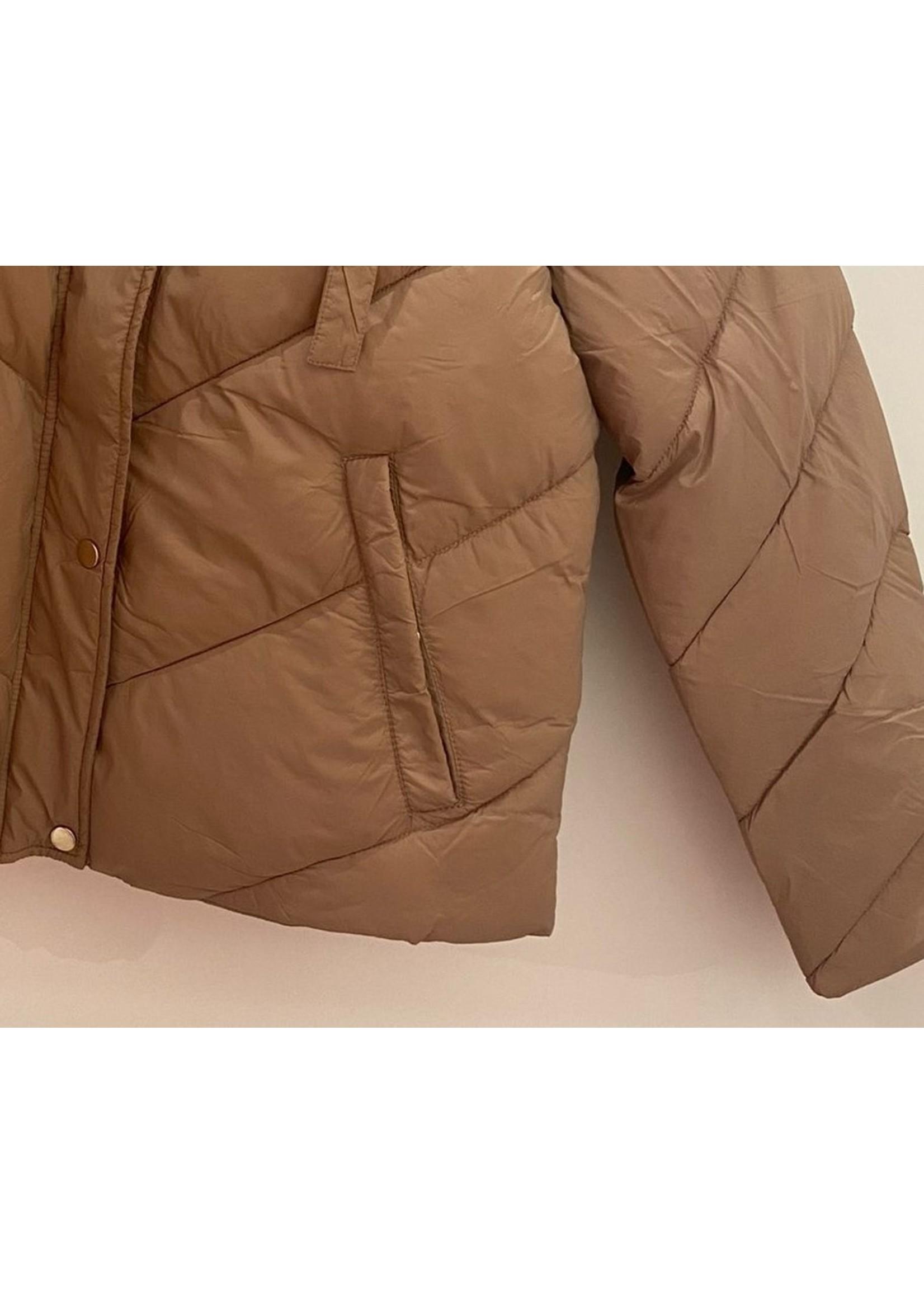 Saint Tropez HayliSZ Short Jacket Light taupe