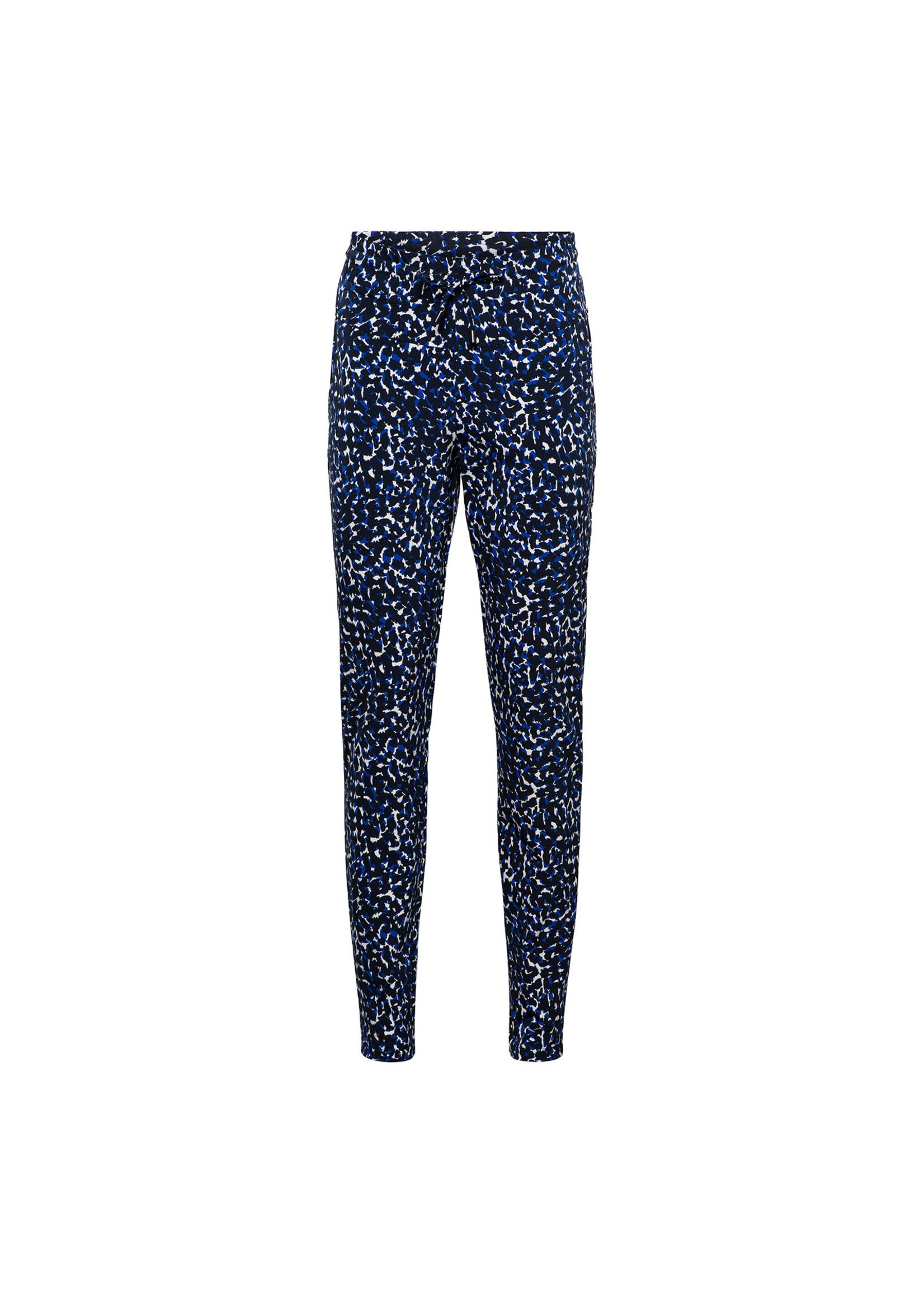 &Co Women philly pants cobalt spot (m.navy)