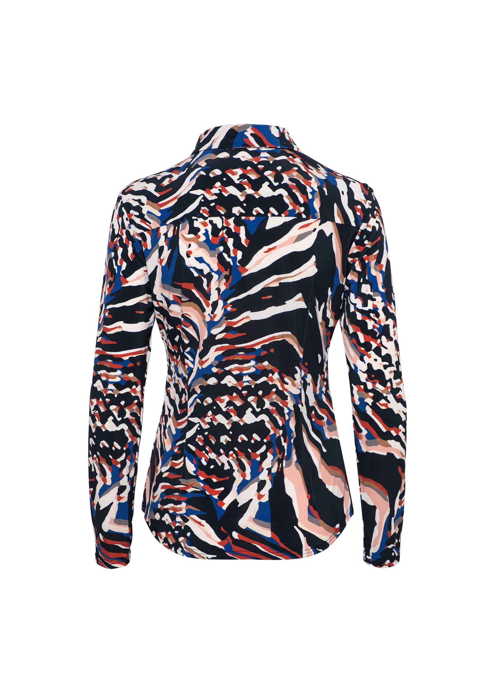 &Co Women Lotte blouse weave (m.navy)