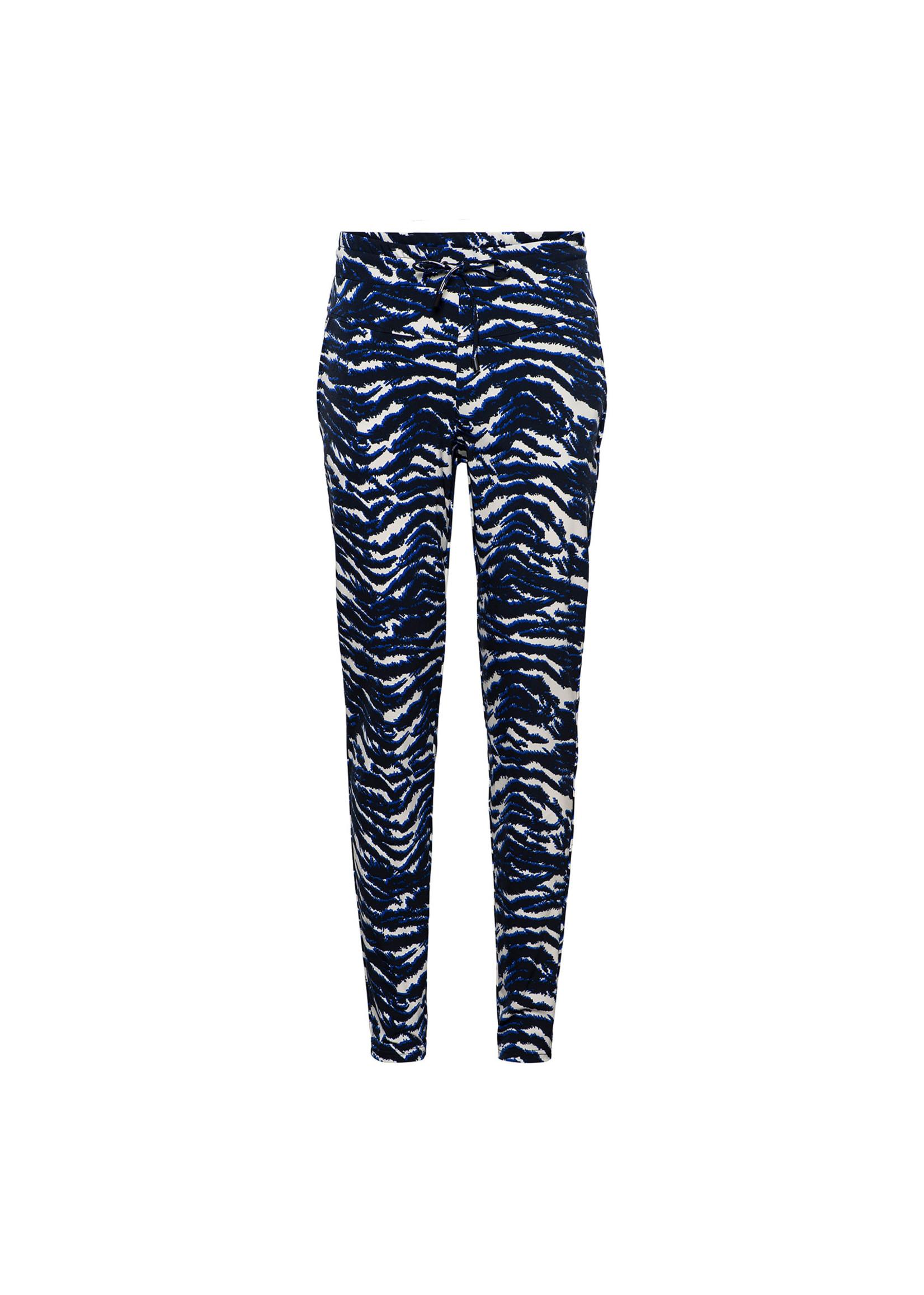 &Co Women philly pants zebra (m.navy)