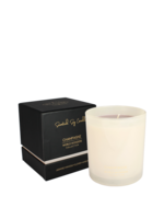 My Flame Scented soy candle in glass jar White 50 hours
