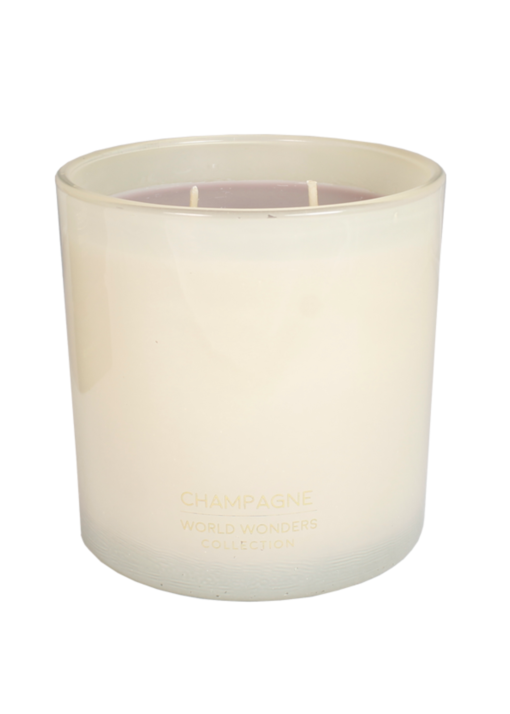 My Flame Scented soy candle in glass jar White 70 hours