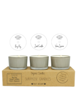 My Flame Surprise soy candles Sand-Big hug, Sweet Cuddles, Warm Squeeze