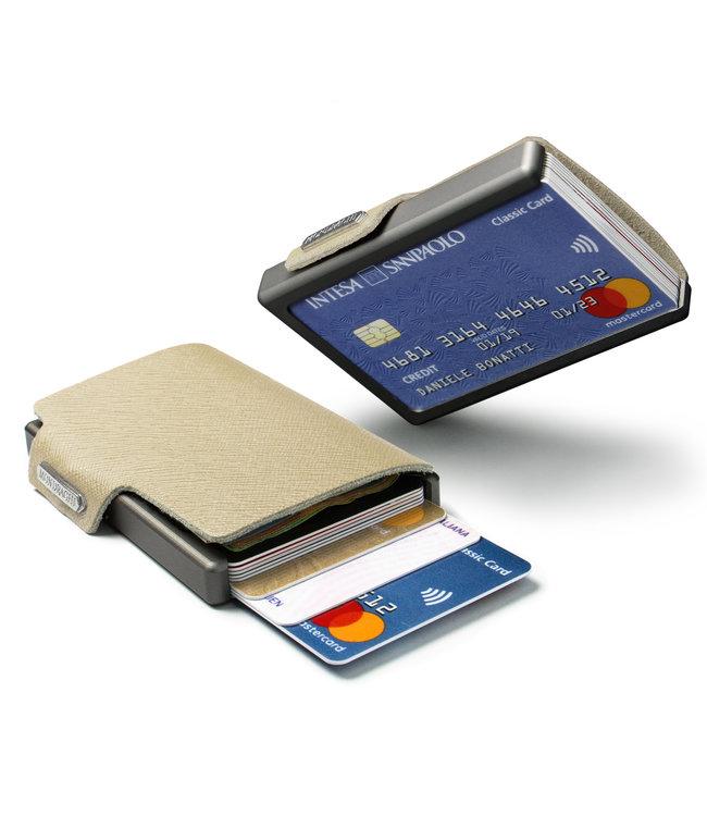 MONDRAGHI Saffiano Magic Wallet betaalpashouder