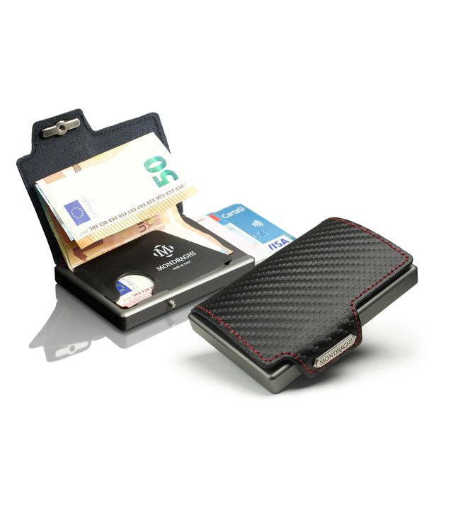 MONDRAGHI Racing Stitched Magic Wallet betaalpashouder