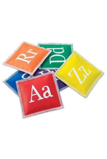 Pittenzakjes met letters alfabet - set van 26