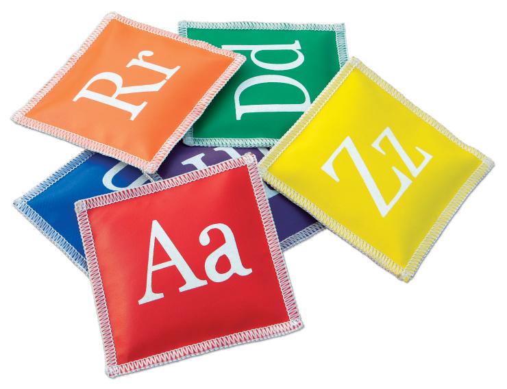 Pittenzakjes met letters alfabet - set van 26-1