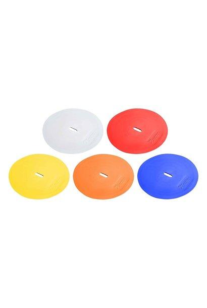 Gekleurde markeerschijven - Set van 10