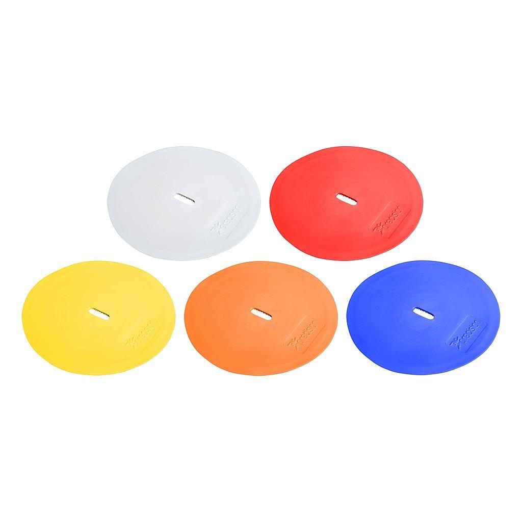 Gekleurde ronde markeerschijven (set van 10)-1