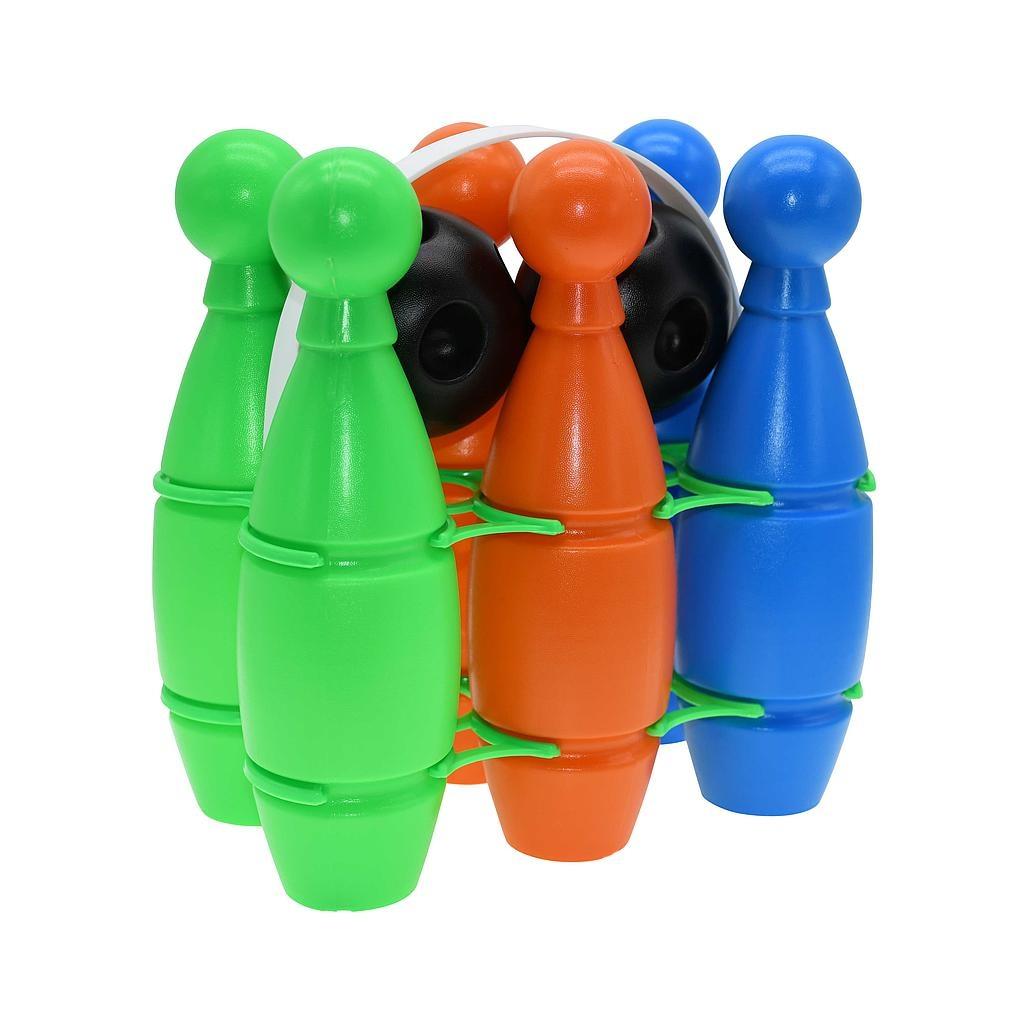 Gekleurde Plastic Bowling Set-1