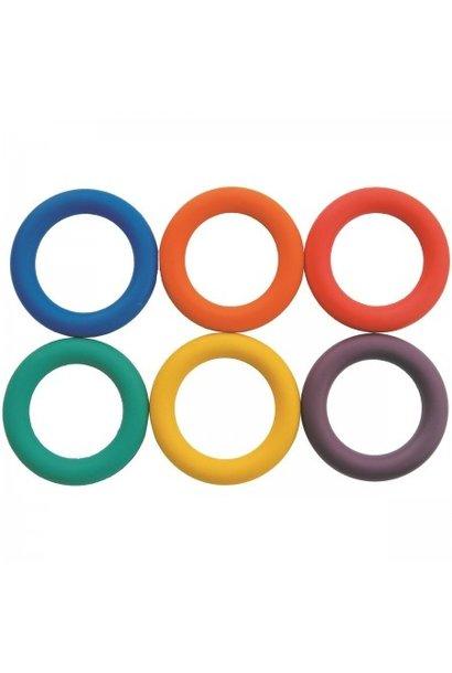 Set rubberen ringen