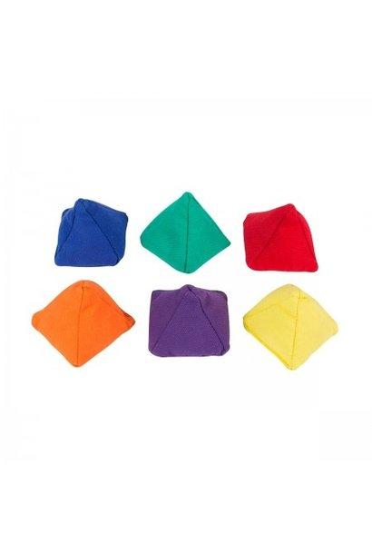 Pyramide Pittenzakjes - Set van 6