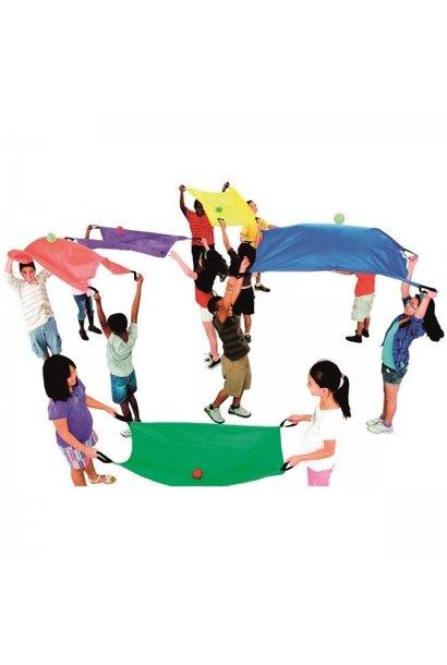 Tweepersoonsparachutes - Set van 6