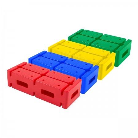 Multifunctionele gekleurde stenen - Set van 4-1