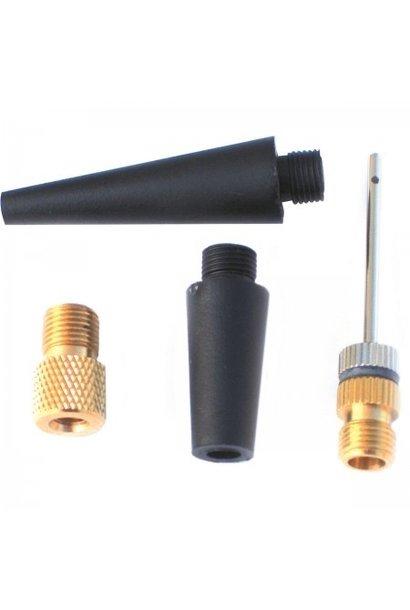 Set van 4 reservenaalden voor mini-luchtcompressor