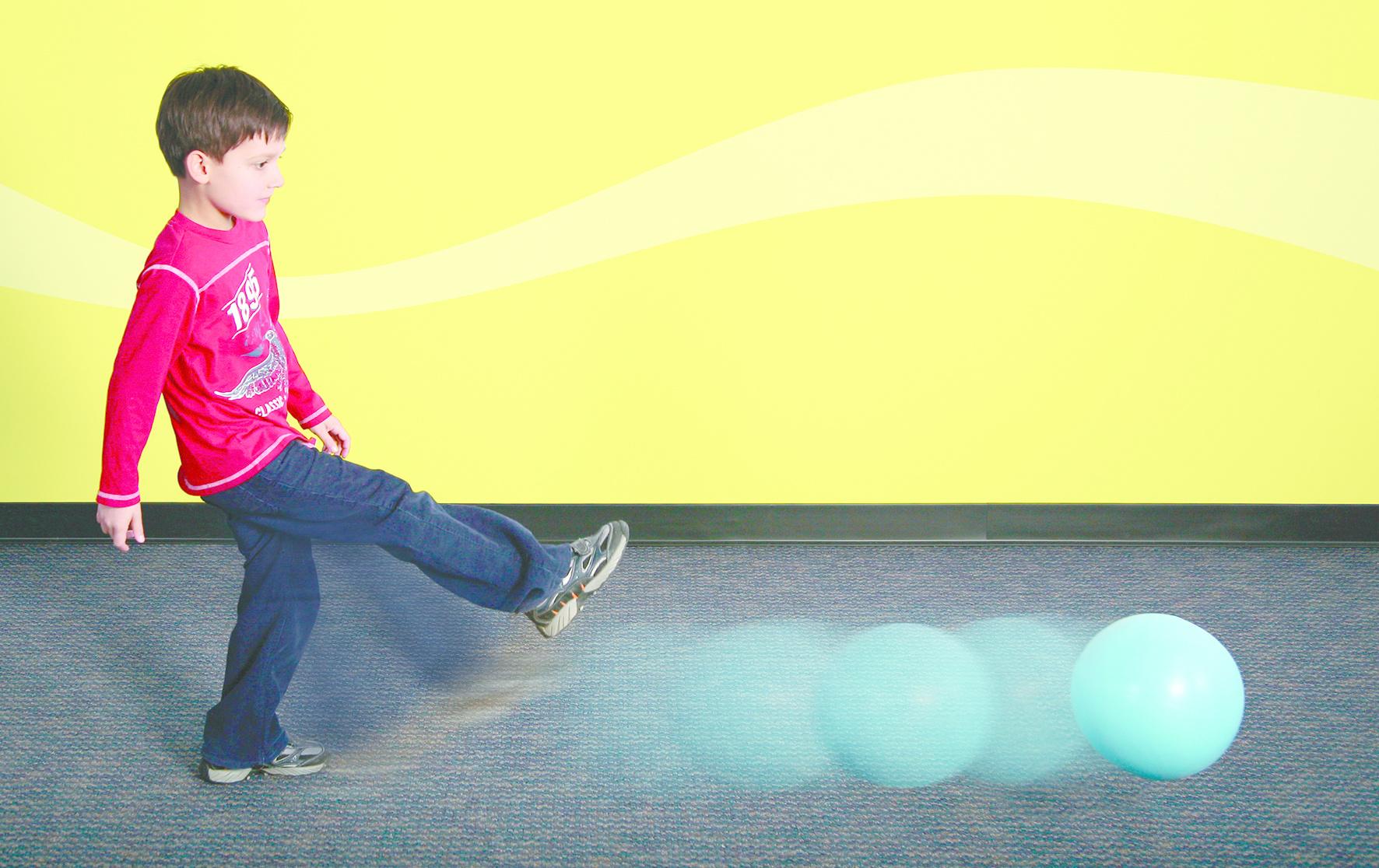 Slow Motion ballen  - set van 6-2