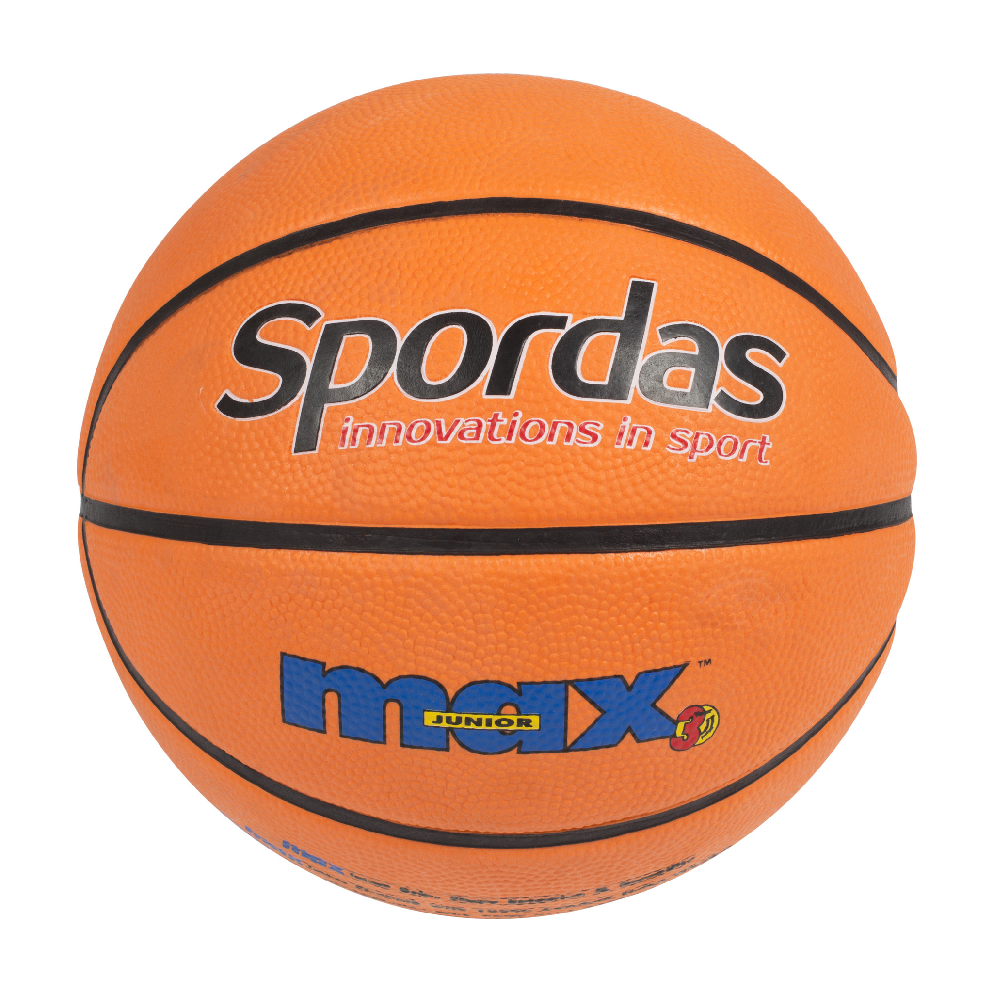 Spordas Max Basketbal - Oranje - Maat 5-1