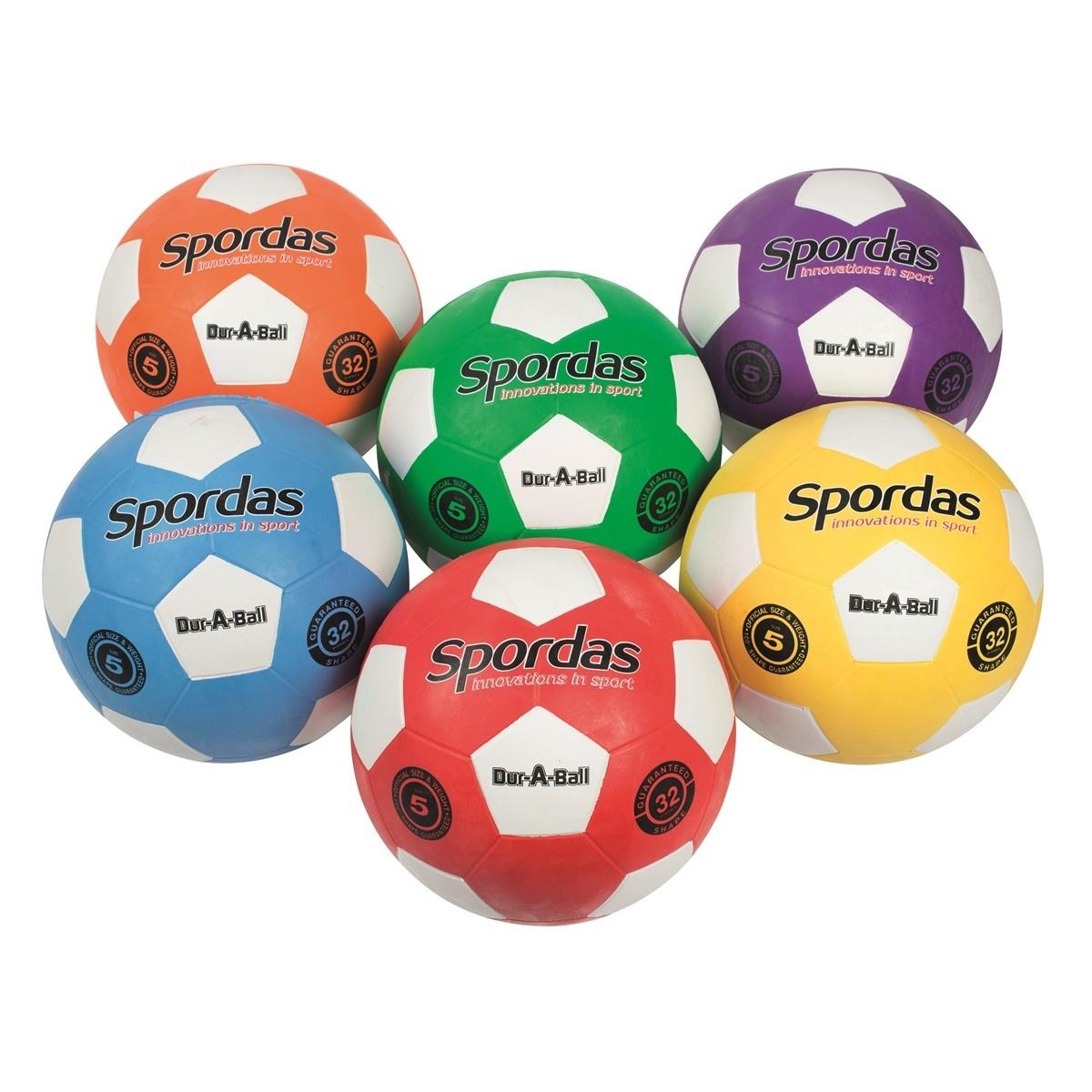 Dur-O-Sport voetballen - Set van 6-1